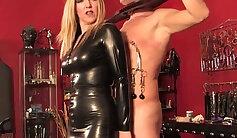British dominatrix gagging her star player