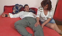 Bound sextape of mom and fun loving girlfriend having sex