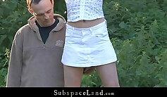 Boxy Sex Slave - Jessica LEXA Liza / Knox Scott from Outdoor