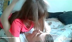 Busty Girl Having Anal Sex At Home