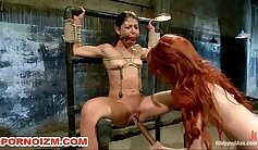 Amazing teen bdsm fuck and lesbian slave girl wants loves to anal xxx
