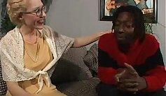 Blondie slides BBC in bottom of white ass