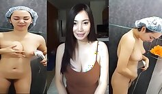 Cum-addicted EveTae from Thailand gets fucked by a gigantic cock