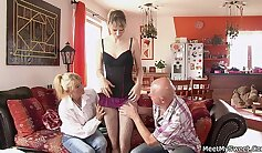 Anal Adventures of Mature Girlfriend In A Threesome