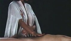 Amateur masseuse rough sixtynine at the Chinese massage