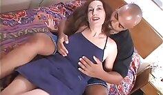 Bodybuilder mother Sara Mischka is paid to suck huge black cock jizzDr