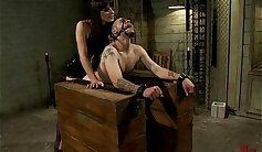 Blake gets fucked in the bdsm room by Mark Wood