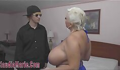Beautiful pregnant teen with huge tits fucked well