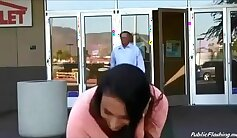 Chase public flashing and tiny spanker Bate Game for Suspect