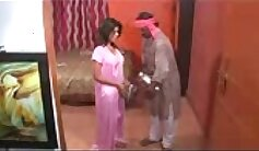 Amateur Festival Live Scene With Indian Housewife