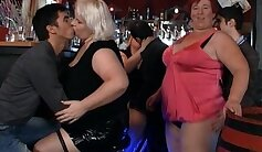 Crazy gangbang party with BBW Rosemary Rawly Exposed