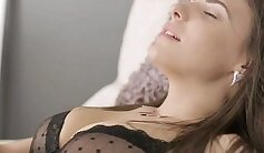 sexy lucky young girl is getting licked anally