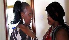 Black couple in hot lesbian sex