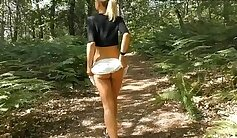 Amateur girl flogged by casting agent