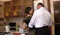 associates daughter kitchen sex and dad fuck Another Satisfied