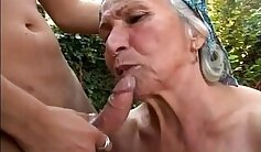 amazing young dames having sex outdoors