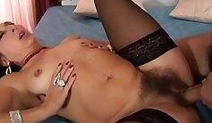 Busty teacher Edom wants to pull Erik and his cock