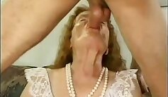 Cum inside granny ass smothered by maledom