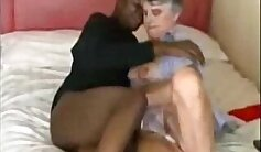 Black granny fucking on the floor