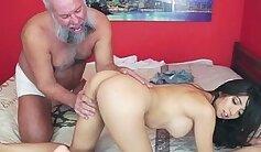 Big Tits Colleague gets Mexican Cock