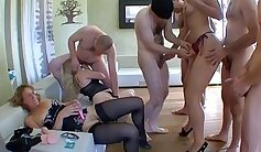amateur french slut sucked so well in gangbang group