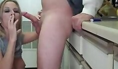 Blonde chick smoking sex - xhamster