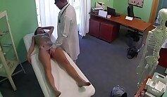 Aida Li Enjoying Her Doctors Cock