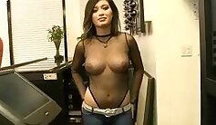 Arona Dahl and Brock Price - Flashing Tits at Money Talks Sucks