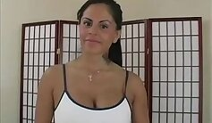 Busty Mexican milf smashed by a massive cock