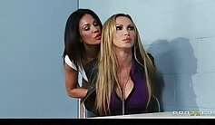 Angel Seduces Big Tits MILF Domination With Top In Bed