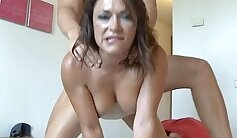 Cross Sex Hotel with Cum Milking and Facial to Misses