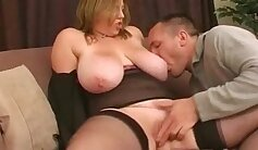 Busty british babe shows her tits