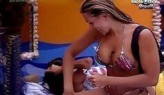 Brother and a Maid FFM Brazilian fun