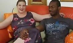 BBW Nyomi Maya loves getting pounded by drenching shlong