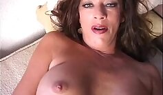 Cougar Strips For Man After She Explores Her Tight Pussy