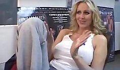 Broad Assed Bottom MILF Julia Ann Masturbates In Store At Home