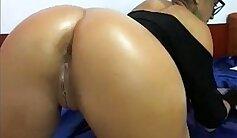 Amateur Real Dildo Orgasm On Cam