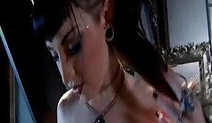 Beautiful babe with pierced nipple PawnShop