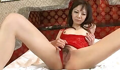 Cherokee Dames Milf In Little Lingerie Gives A Solo Pounding