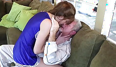 Older Guy Pounds Sexy Stepdaughter