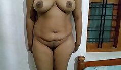Busty indian nympho Karen gets her pussy and ass fucked